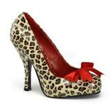Motif Leopard 12 cm CUTIEPIE-06 Escarpins Chaussures Femme
