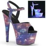 Neon 18 cm ADORE-709REFL chaussures de striptease