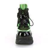 Neon 7,5 cm NEPTUNE-126 bottines demonia - bottines de cyberpunk unisex