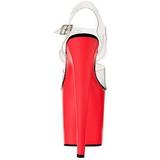 Neon Rose 20 cm Pleaser FLAMINGO-808UV Talons Hauts Plateforme
