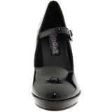Noir 10 cm CONTESSA-50 Mary Jane Escarpins Chaussures