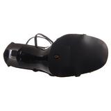 Noir 11,5 cm GALA-41 Sandales à talons aiguilles
