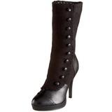 Noir 11,5 cm SPLENDOR-130 bottines a plateforme pour femmes