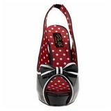 Noir 11,5 cm retro vintage BETTIE-05 Chaussures pour femmes a talon