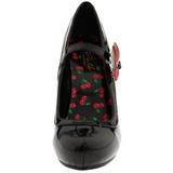 Noir 11,5 cm retro vintage CUTIEPIE-10 Chaussures pour femmes a talon