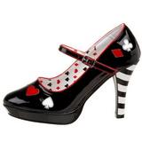 Noir 11 cm CONTESSA-57 Chaussures pour femmes a talon