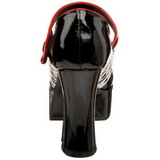 Noir 11 cm QUEEN-55 Chaussures pour femmes a talon
