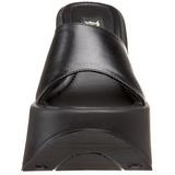 Noir 13,5 cm DYNAMITE-01 Plateforme Tongs Gothique Femmes