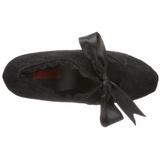 Noir 13 cm DEMON-11 chaussures lolita gothique