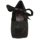 Noir 13 cm DEMON-11 chaussures lolita gothique femmes semelles épaisses
