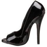 Noir 15 cm DOMINA-212 Chaussures pour femmes a talon