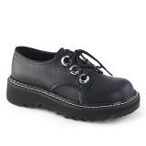 Noir 3 cm DEMONIA LILITH-99 chaussures plateforme gothique