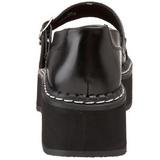 Noir 5 cm EMILY-306 chaussures lolita gothique femmes semelles épaisses