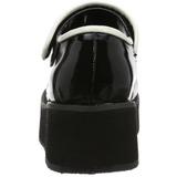 Noir 6 cm SPRITE-01 plateforme chaussures lolita