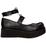 Noir 6 cm SPRITE-02 plateforme chaussures lolita
