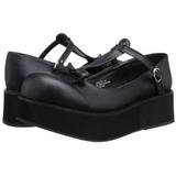 Noir 6 cm SPRITE-03 plateforme chaussures lolita