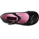Noir 6 cm SPRITE-04 plateforme chaussures lolita