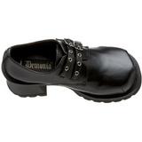 Noir 7 cm TRUMP-101 chaussures lolita gothique