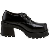 Noir 7 cm TRUMP-101 chaussures lolita gothique femmes semelles épaisses