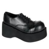 Noir 8,5 cm DANK-101 chaussures lolita gothique