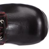 Noir 9,5 cm GOTHIKA-101 bottines lolita gothique semelles épaisses
