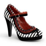 Noir Blanc 11,5 cm BETTIE-18 Chaussures pour femmes a talon