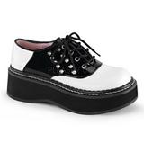 Noir Blanc 5 cm EMILY-303 plateforme chaussures lolita