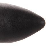 Noir Cuir 10 cm VANITY-2013 Bottes Femmes Hautes