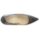 Noir Mat 10 cm CLASSIQUE-20 Escarpins Talon Aiguille Femmes
