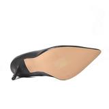 Noir Mat 10 cm CLASSIQUE-20 Escarpins Talons Aiguilles Hommes