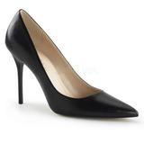 Noir Mat 10 cm CLASSIQUE-20 escarpins à talon aiguille bout pointu