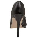 Noir Mat 11 cm BLISS-30 Escarpins Talon Aiguille Femmes