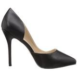 Noir Mat 13 cm AMUSE-22 Chaussures Escarpins Classiques