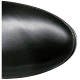 Noir Mat 13 cm ELECTRA-3050 Bottes Cuissardes Talons Hauts