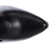 Noir Mat 13 cm SEDUCE-3050 Cuissardes Bottes Longues