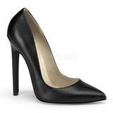 Noir Mat 13 cm SEXY-20 Escarpins Chaussures Femme