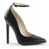Noir Mat 13 cm SEXY-23 Chaussures Escarpins Classiques