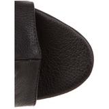 Noir Mat 16,5 cm Pleaser ILLUSION-1018 Plateforme Bottines