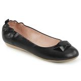 Noir OLIVE-08 ballerines chaussures plates femmes