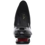 Noir Rouge 15 cm BLONDIE-685 Escarpins Talon Aiguille Femmes