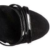 Noir Rouge 18 cm ADORE-762 Corsage Chaussure Talons Hauts