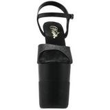 Noir Scintillement 20 cm Pleaser FLAMINGO-809-2G Talons Aiguilles Plateforme