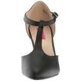 Noir Similicuir 10 cm DREAM-425 grande taille escarpins femmes