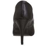 Noir Similicuir 10 cm VANITY-420 Escarpins Chaussures Femme