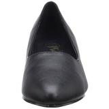 Noir Similicuir 5 cm FAB-420W escarpins à talons hauts