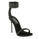 Noir Strass 12 cm CHIC-40 Chaussures Stilettos Hauts Talons