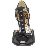 Noir Suede 10 cm SMITTEN-10 Escarpins Chaussures Femme