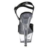 Noir Transparent 15 cm Pleaser KISS-209 Plateforme Haut Talon