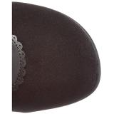 Noir Velours 9,5 cm GLAM-300 Bottes Cuissardes Talons Hauts