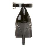 Noir Verni 10,5 cm DREAM-431 Escarpins Talons Hauts Hommes